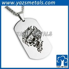 Thick Dog Tag Stainless Steel,Dog Tag Pendant,Dog Tag Engraver