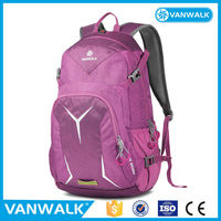 Custom design different size large compartment bagbase polyester backpacks