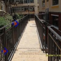 Solide Galvanised Steel Modern Railings Banisters