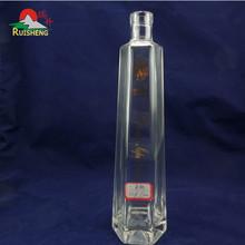 Competitive price customized ukrainian vodka sealed bottle custom
