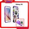 Custom design accept for Samsung galaxy S6 hybird case