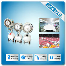 Big Capacity Water Saving Electric Mist Cooling System with Technical Support / Aftersales service