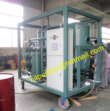 PLC Lubricating Oil Purifier, Waste Oil Disposal Plant, Lubricants Oil Recycling System