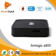 Ditter U20 Amlogic S805 Quad Core Android 4.4.2 WiFi TV Box / Mini PC 1GB RAM 8GB ROM for Home Entertainment