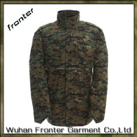 M65 Digital Woodland camouflage jackets With Detachable Liner