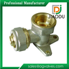 Good quality promotional Wall Plated Female Elbow Brass Pex Fitting
