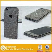 Full Body Film Sticker Protector Glitter Skin Cover Mobile Phone Skin For iPhone 5