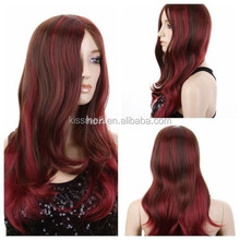 Long Curly Wavy Light Purple Hair Fashion Heat Resistant Women Cosplay Party Wigs