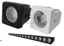 High quality cheap off road lights 10w led motorcycle driving lights