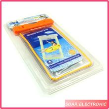 Hot selling cell phone waterproof bag ,mobile phone waterptoof case,smart phone waterptoof bag case