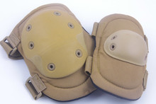 Top quality tickness tactical knee and elbow pads , military elbow pads