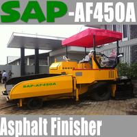 Asphalt Paver / Asphalt Finisher 4.5m Tyre type YuChai Engine