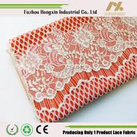 nylon cotton lace fabric nylon cotton eyelash lace dress wedding eyelash lace dresse