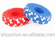 new design squeaky type vinyl dog toys pet toys
