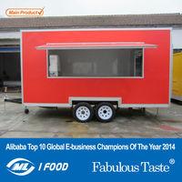 2015 hot sales best quality street mobile food car global food car sea food car