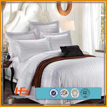 1'' satin stripe dobby comforter sets bedding set hotel bed linen