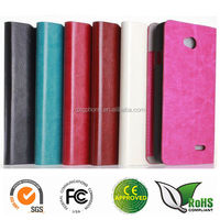 High quality and factory price Flip stand leather case for LG F70