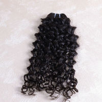 Top quality DK hair product Malaysian hair, 3 packs 12inch remy virgin100% malaysian Italian Curl wave hair extension