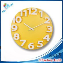2015 14Inch Best Selling Plastic Products Promotional Cheap Gift Wall Clock