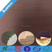 1220x2440mm kitchen mdf sheets 9mm white color
