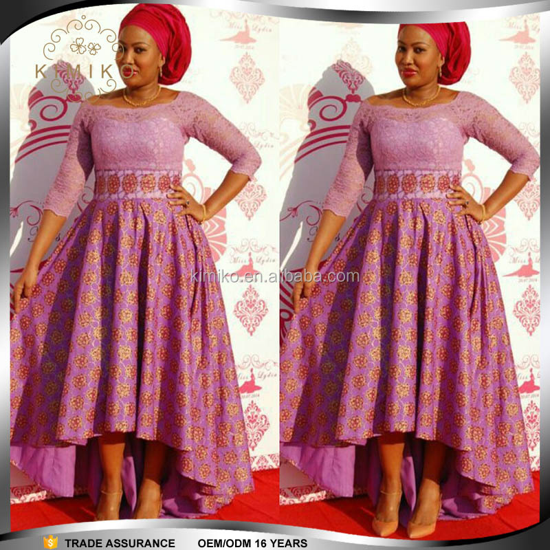 Manufacture Dashiki Plus Size Evening Dress Designs For African