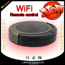 New arrival! smart home robot cleaner with WIFI,Remote contraller for floor cleaning