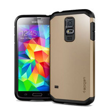 for Samsung Galaxy s5 SPIGEN SGP slim armor Case mobile phone accessories factory in china