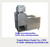 fruit processing machine / cherry stem removing machine