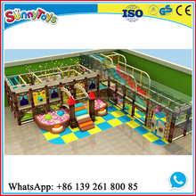 used commercial plastic indoor castle playground for sale