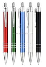 Hot sale promotion high quality elegant design promotional metal pen