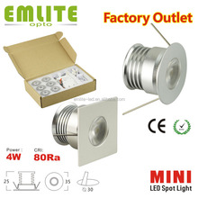 Europe America hot COB 4w x 6pcs Mini Downlight LED IP44