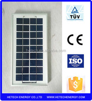 Good quality portable mini solar panel 5w with competitive price from china