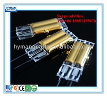 Gold twin tube short wave ir heater for drying text,Golden coated electric energy save infrared lamp