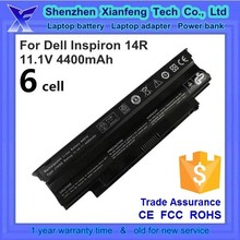 Alibaba Trade Assurance Supplier, laptop battery for Dell inspiron 13r 14r 15r 17r, n3010 n3110 n4010 n4110 n5010 n5110, j1knd