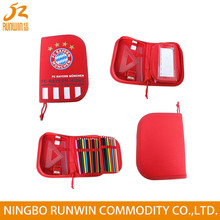 SGS Approved Customized Polyester Multi-function Drawing pencil case