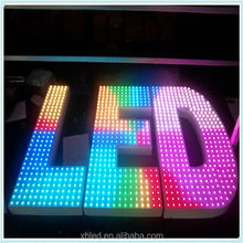 Changeable color 5meter to 50pcs/string;Input dc 5V; ip66 waterproof;Digital Outdoor Pixel LED Light String For Club Bar