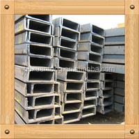 Low price Hot Rolled Channel steel, mild steel channel, good quality channel bar