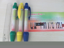 Factory Sale Top Quality banner pen for promotion