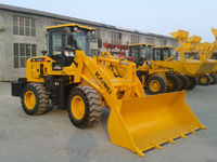 ZL18 small loader with snow bucket/quick change/pallet fork