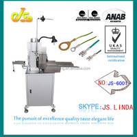 2014 Hot sell JS-6001 Fully automatic cable marker sleeve wire strip cut crimping machine crimpper cutting stripping wire