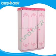 Bumpkincraftltd top grade 3 doors children bedroom wooden wardrobe design