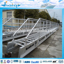marina de aluminio escalera de pasarela