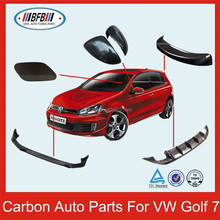 Carbon Auto Accessories Rear Trunk Spoiler For Golf 7 VII 2014