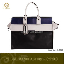 Classical design PU korean handbag