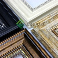 2015 wholesale wood-like ps mirro photo picture frame moulding