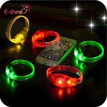 2014 New Colorful Party Motion Activated Led Bracelet