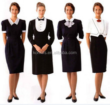 2015 Wholesale formal ladies wear for bali hotel uniform