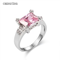 2012 newest design fashion crystal rings for girls cheap