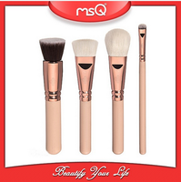 MSQ 4pcs Professional Cheap Goat Hair Brush Tool Set