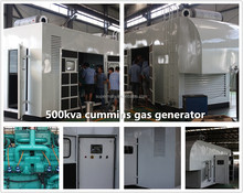 250kva natural gas generator with CHP and GGD